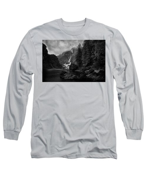 Lake In The Dolomites Long Sleeve T-Shirt