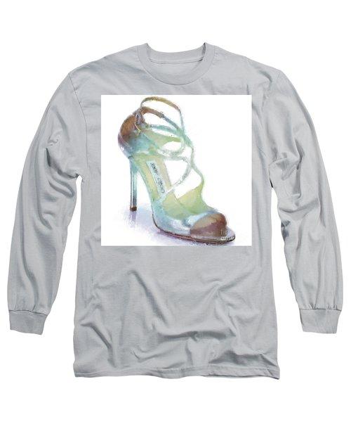 Lance Metallic Sandal Long Sleeve T-Shirt