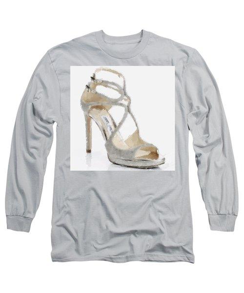 Lang Crackeled Sandals Long Sleeve T-Shirt