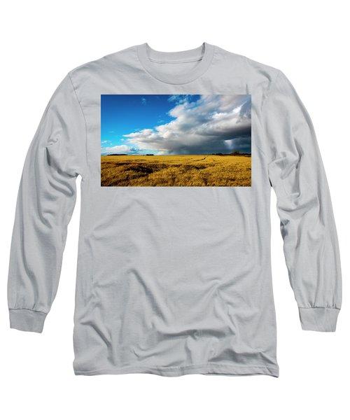 Late Summer Storm With Tornado Long Sleeve T-Shirt