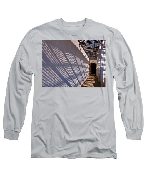 Lattice Shadows Long Sleeve T-Shirt