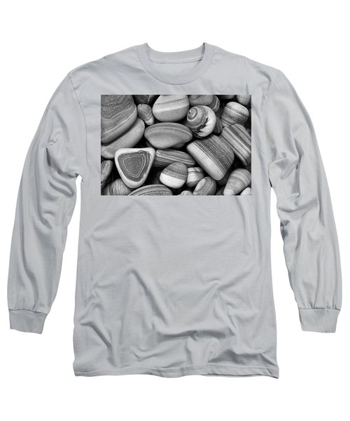 Lined Rocks And Shell Long Sleeve T-Shirt
