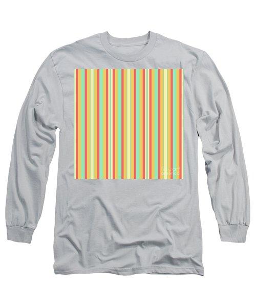 Lines Or Stripes Vintage Or Retro Color Background - Dde589 Long Sleeve T-Shirt