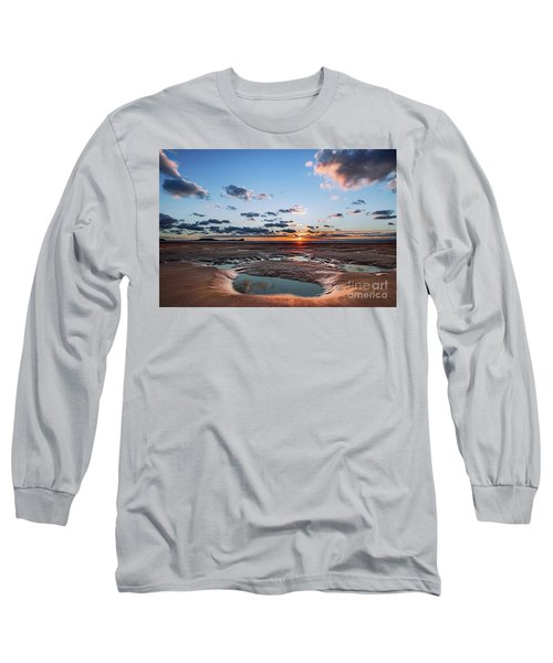 Llangennith Beach Long Sleeve T-Shirt