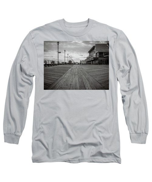 Low On The Boardwalk Long Sleeve T-Shirt