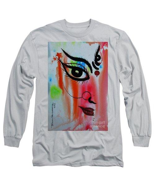 Ma Durga-5 Long Sleeve T-Shirt
