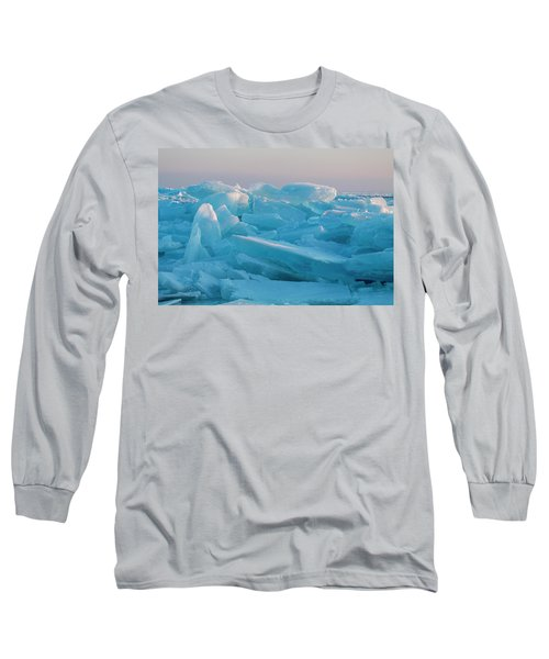 Mackinaw City Ice Formations 2161807 Long Sleeve T-Shirt