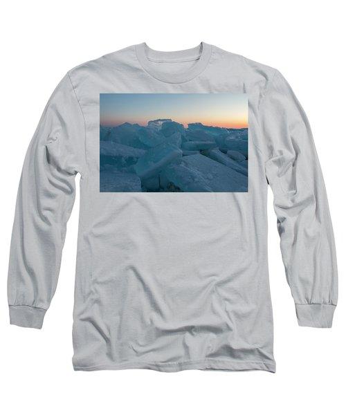 Mackinaw City Ice Formations 2161808 Long Sleeve T-Shirt