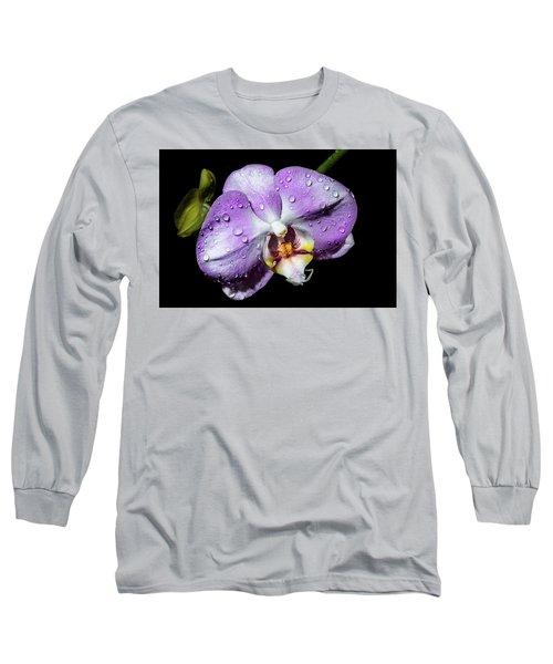 Magenta Phal Long Sleeve T-Shirt