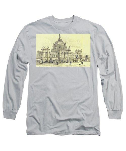 Memorial Hall, Centennial Long Sleeve T-Shirt