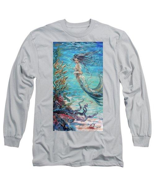 Mermaid Neighbors Long Sleeve T-Shirt