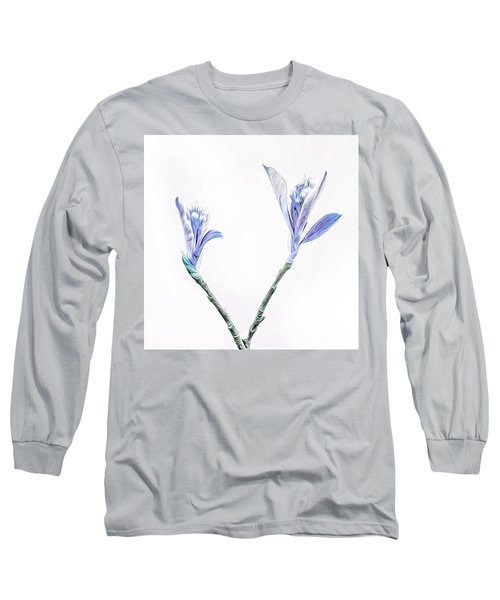 Minimalist Chokeberry Buds Long Sleeve T-Shirt