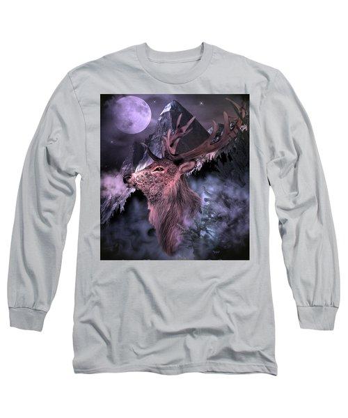 Moonlight Buck Long Sleeve T-Shirt