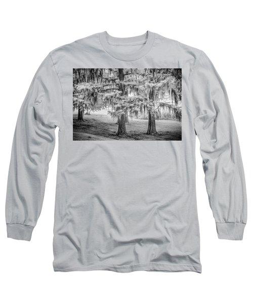 Moss Laden Trees 4132 Long Sleeve T-Shirt