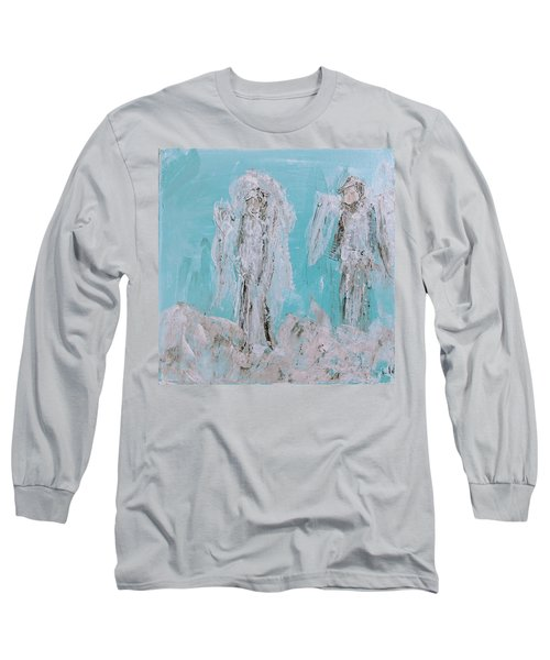Mr And Mrs Angels Long Sleeve T-Shirt