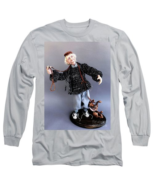 Mr. Wiggles And The Dog Walker Long Sleeve T-Shirt