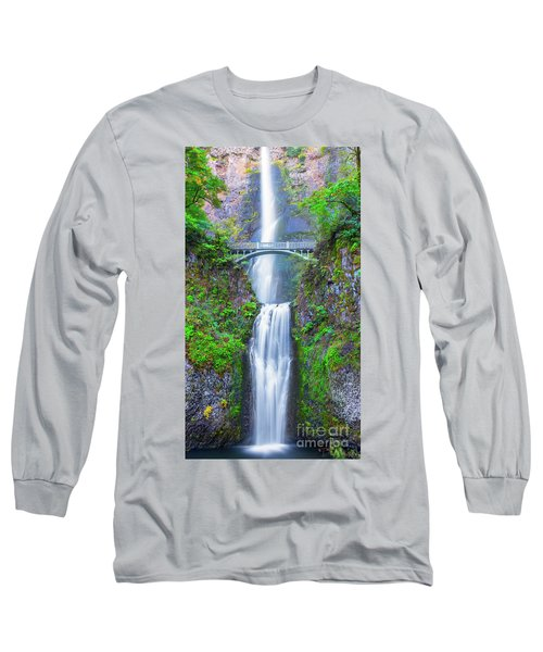 Multnomah Falls Long Sleeve T-Shirt