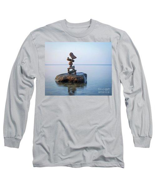 Zen Stack #9 Long Sleeve T-Shirt