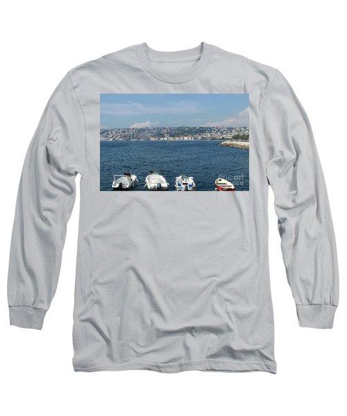 Naples Port Long Sleeve T-Shirt