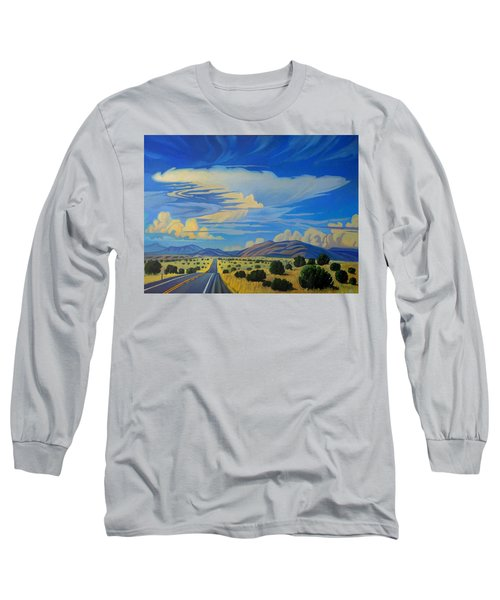 New Mexico Cloud Patterns Long Sleeve T-Shirt