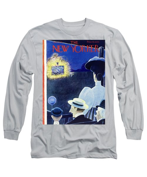 New Yorker July 6th 1946 Long Sleeve T-Shirt
