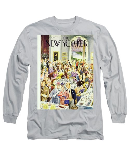 New Yorker June 28th 1947 Long Sleeve T-Shirt