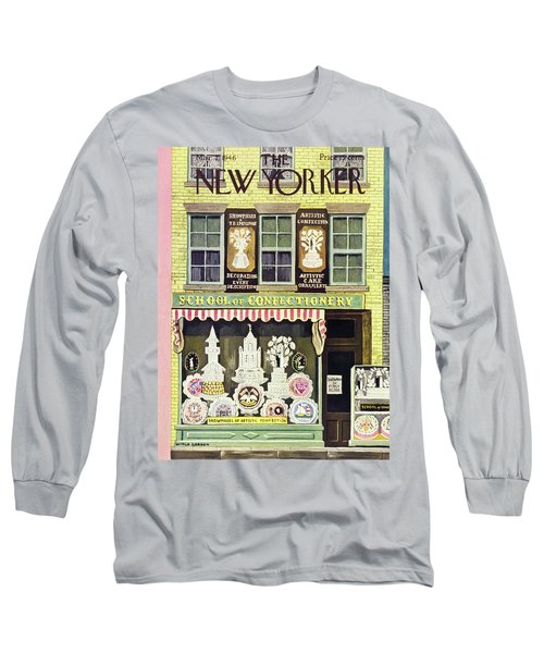 New Yorker March 2nd 1946 Long Sleeve T-Shirt