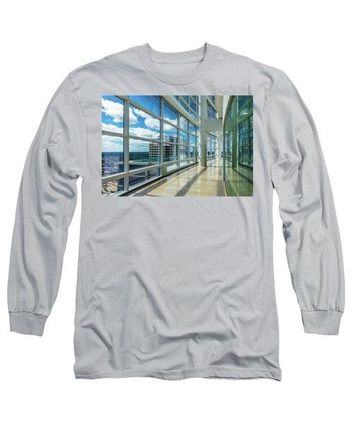 Long Sleeve T-Shirt featuring the photograph Nm Tower View by Randy Scherkenbach