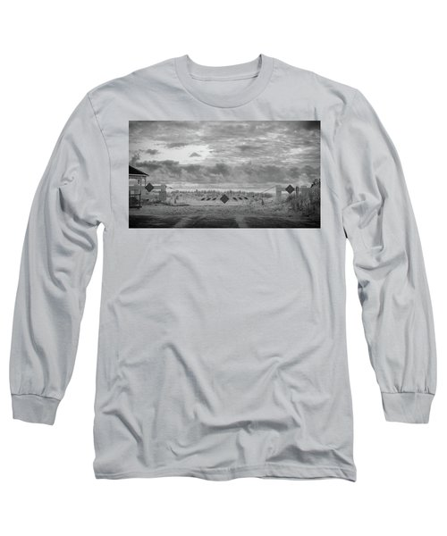 No Vehicles Long Sleeve T-Shirt