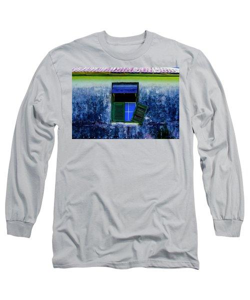 Old Window 3 Long Sleeve T-Shirt