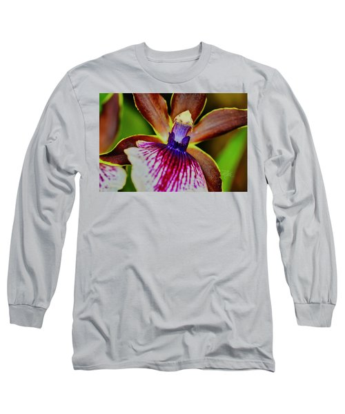 Orchid Study Two Long Sleeve T-Shirt