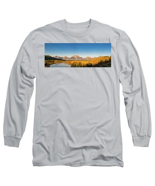 Long Sleeve T-Shirt featuring the photograph Oxbow In The Fall by Mary Hone