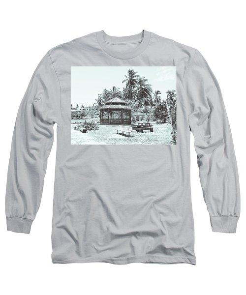 Pagoda On The Sea Long Sleeve T-Shirt