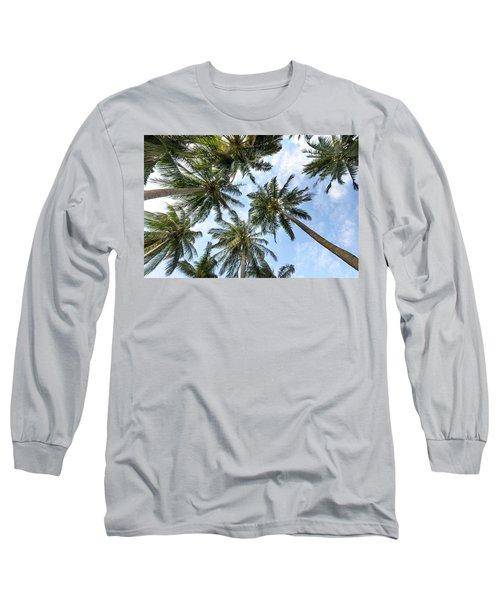 Palms  Beach Long Sleeve T-Shirt