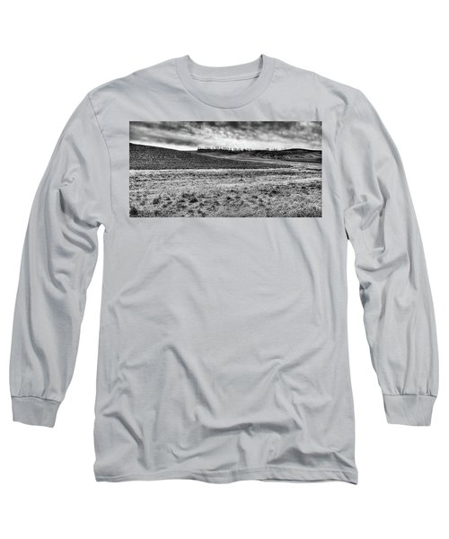 Long Sleeve T-Shirt featuring the photograph Palouse Treeline by David Patterson