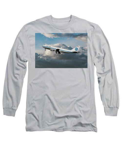 Pan American Boeing 747 At Los Angeles Airport Long Sleeve T-Shirt