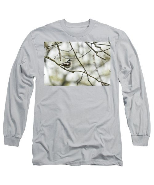 Pied Flycatcher Long Sleeve T-Shirt