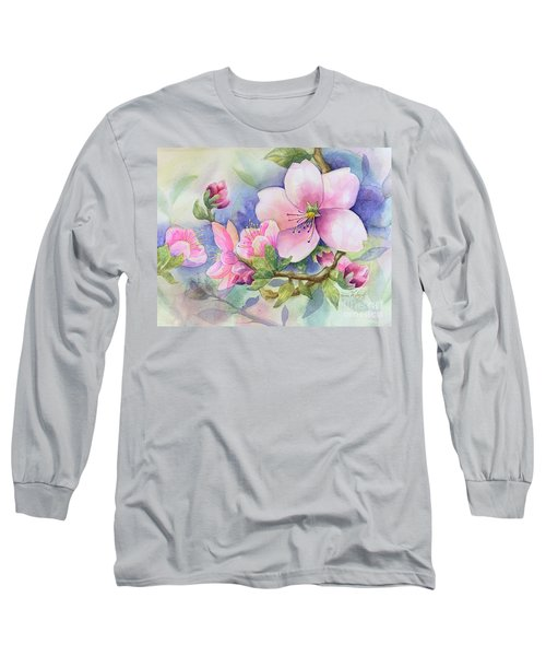 Pink Blossoms Long Sleeve T-Shirt