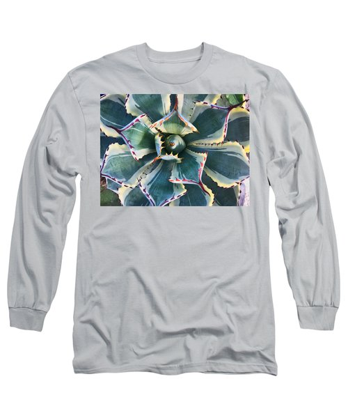 Pinwheel Succulent Long Sleeve T-Shirt