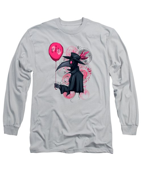 Plague Doctor Balloon Long Sleeve T-Shirt