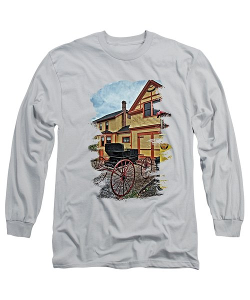 Pump And The Buggy Long Sleeve T-Shirt