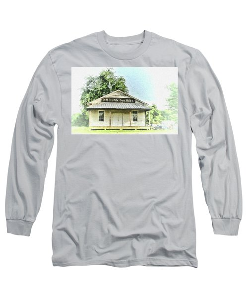 Quiet Reminder Of Yesterday In Goochland, County Virginia Long Sleeve T-Shirt