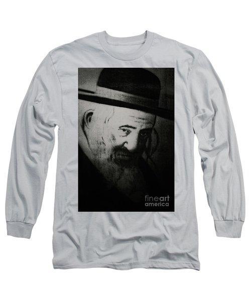 Rabbi Shayele Kerestirer Long Sleeve T-Shirt