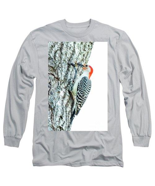 Red-bellied Woodpecker Long Sleeve T-Shirt