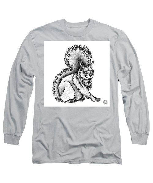 Red Squirrel Long Sleeve T-Shirt