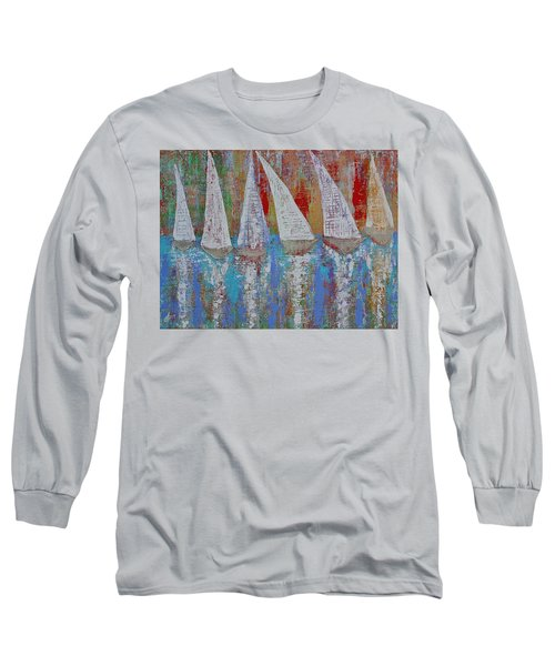 Regatta Original Painting Long Sleeve T-Shirt