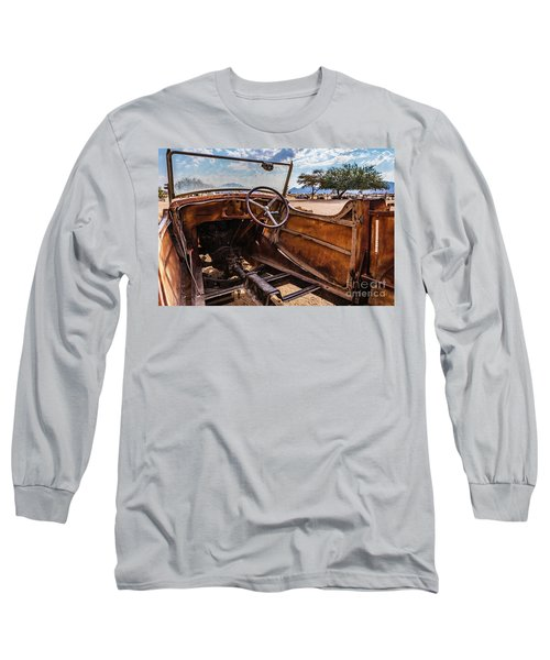 Rusty Car Leftovers Long Sleeve T-Shirt