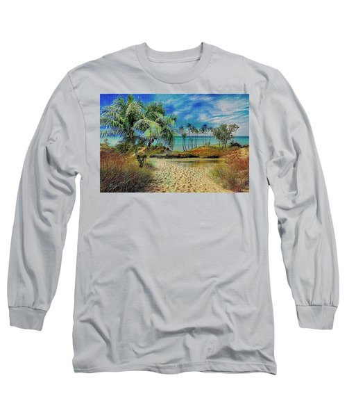 Sand To The Shore Montage Long Sleeve T-Shirt