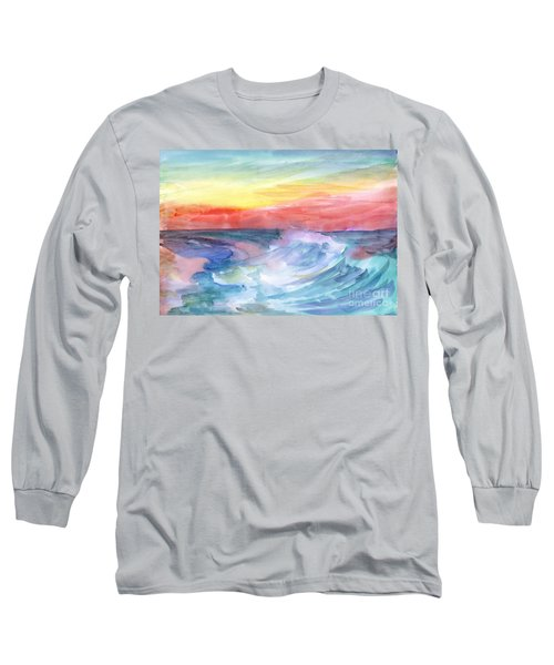 Sea Wave Long Sleeve T-Shirt