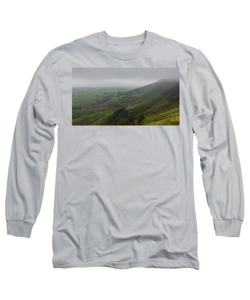 Shivering Mountain,  Long Sleeve T-Shirt